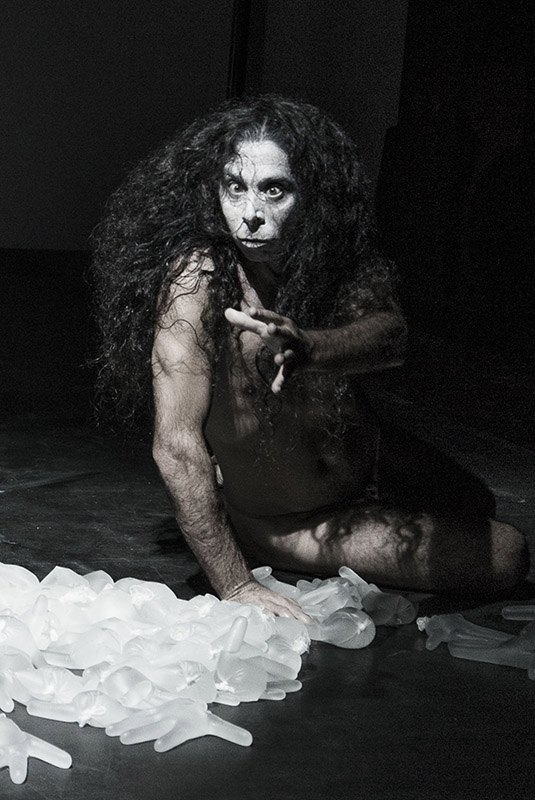 WOLF - Butoh Theater - Horacio Ganem